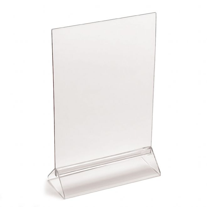 A4 Menu / Information Holder - Double Sided